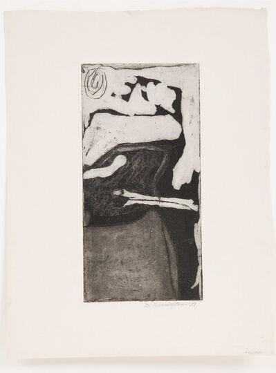 Deborah Remington, 'Untitled B&W Abstraction #3', 1951
