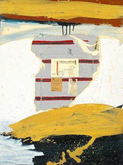Robert Motherwell, 'N.R.F. Collage No. 2', 1960