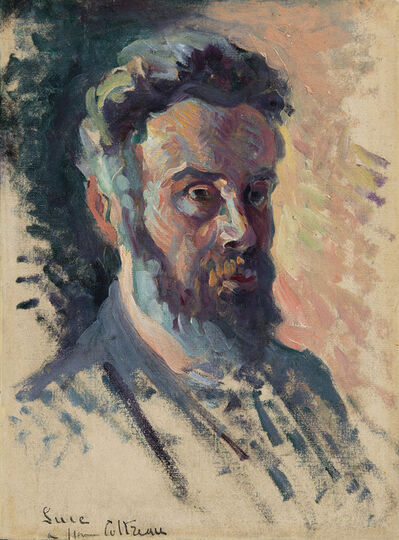 Maximilien Luce, 'Autoportrait'