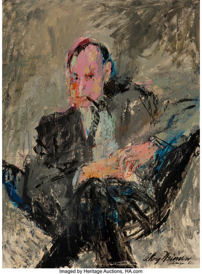 LeRoy Neiman, 'Art Paul', 1961