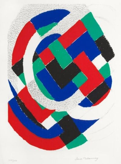 Sonia Delaunay, 'LITHOGRAPH,1971', 1971