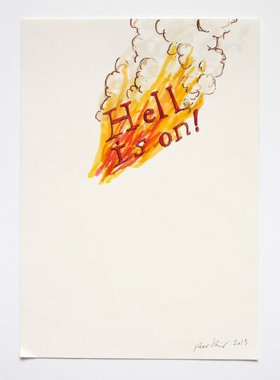 Ragnar Kjartansson, 'Hell is on', 2013