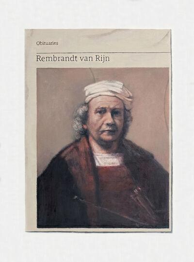 Hugh Mendes, 'Obituary: Rembrandt van Rijn', 2018