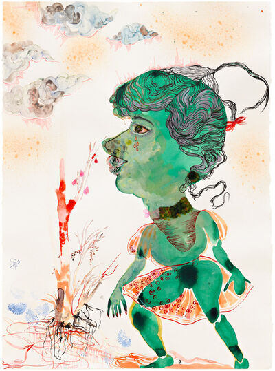 Rina Banerjee, 'Searching for greener pastures and even greener (nicer) people', 2011