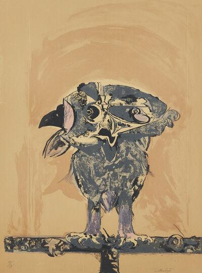 Graham Sutherland, 'Owl [Tassi 102]', 1968