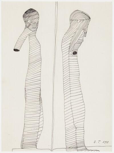 Oswald Tschirtner, 'Antike Figuren', 1973