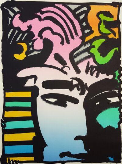 Peter Max, 'Aztec Man', 1973