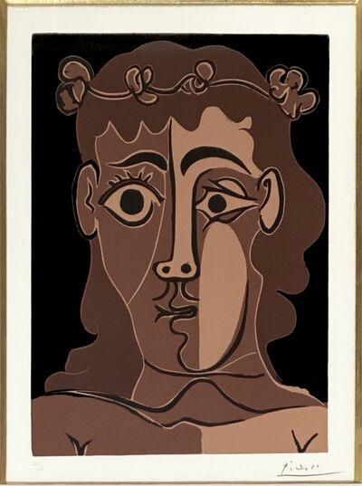 Pablo Picasso, 'Jeune Homme Couronné de Feuillage', 1962