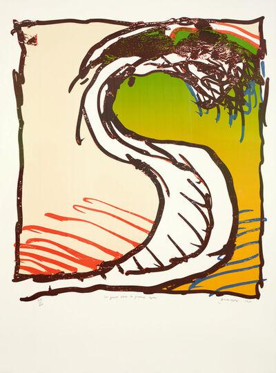 Pierre Alechinsky, 'La genou dans la grande robe', 1981
