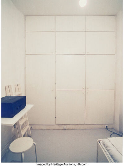 Gregor Schneider, 'The German Contribution, Bower, Venice (two photographs)', 2001