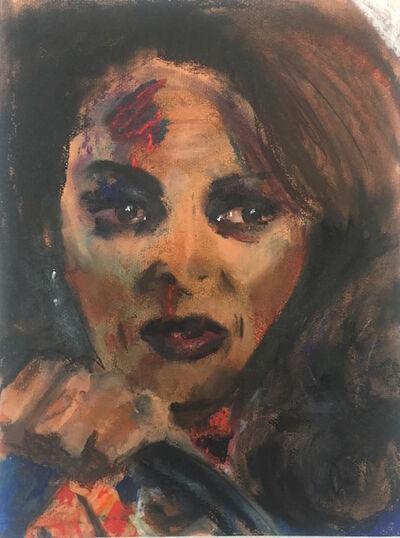 Dawn Mellor, 'Pam Grier', 2010-2017
