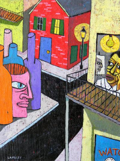David Lambert, 'Corner Bar', 2019