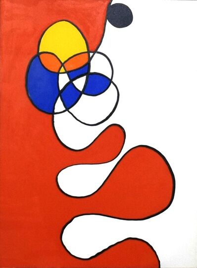Alexander Calder, 'Derriere le Miroir #173 (Plate 6)', 1968