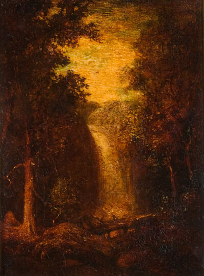 Ralph Albert Blakelock, 'The Waterfall', Late 19th century