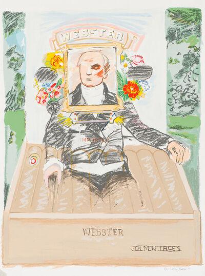 Larry Rivers, 'Webster Golden Tales', 1990