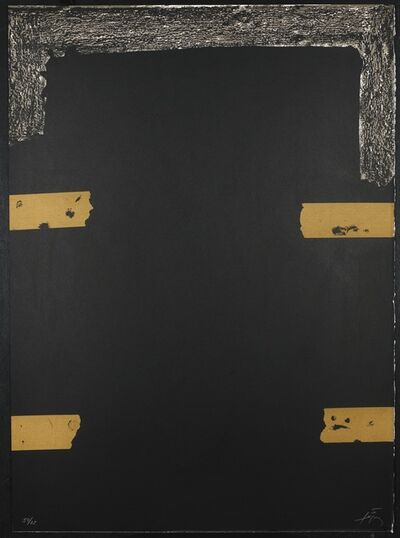 Antoni Tàpies, 'Sans titre (Poems from the Catalan) G.383', 1973