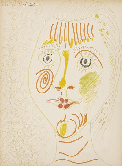 Pablo Picasso, 'Tête de Femme', 1970