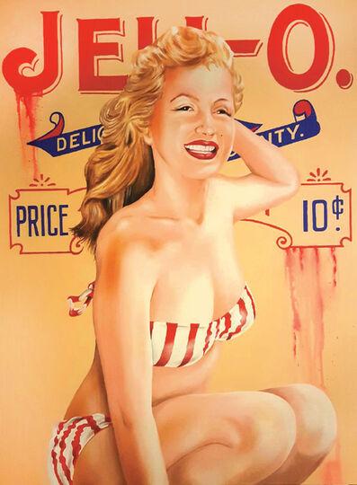 "James ""Sexer"" Rodriguez, 'Jello Marilyn', 2017"