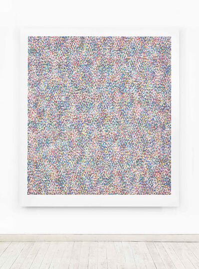 James Hugonin, 'fluctuations in elliptical form (I)', 2016