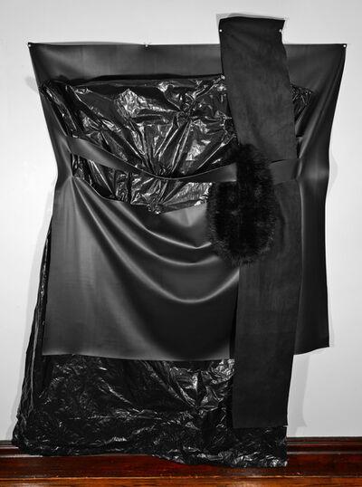 Dominique Duroseau, 'Settlement boundaries, considered [Black on Black on Black with Black series]', 2019-2020