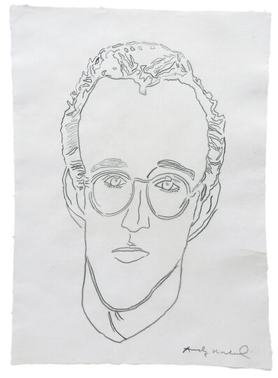 Andy Warhol, 'Untitled (Keith Haring)', n.d.