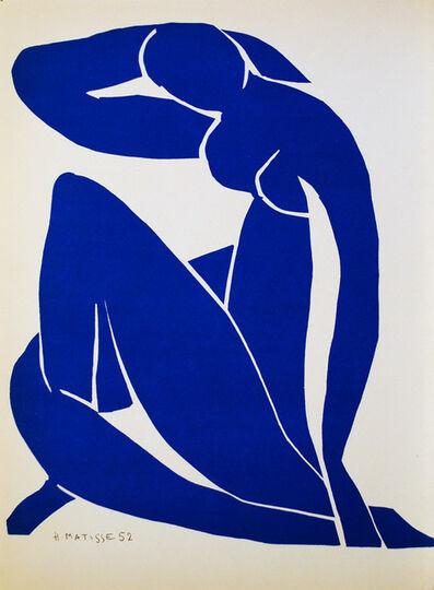 Henri Matisse, 'Nu Bleu II', 1952