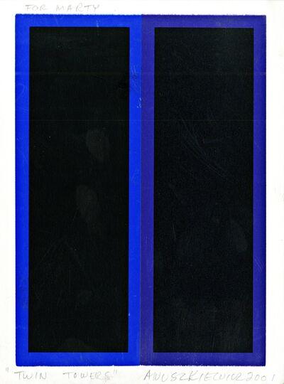 Richard Anuszkiewicz, 'Twin Towers', 2001