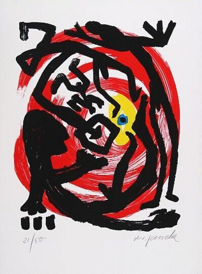 A.R. Penck, 'Dresden 1992 Blatt 3', 1992