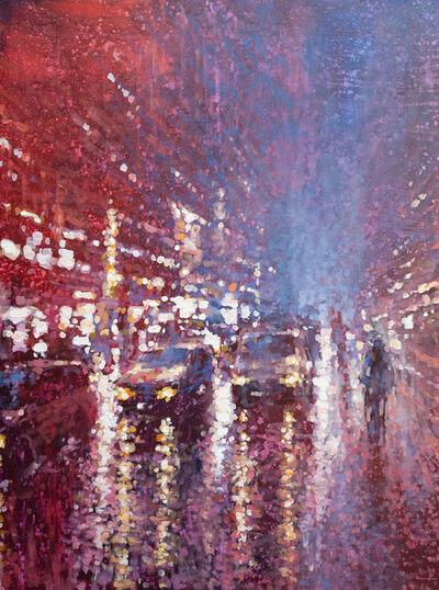 David Hinchliffe, 'Peak Hour in the Rain', 2020