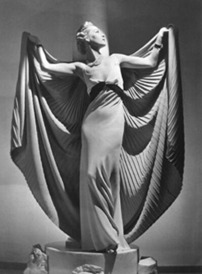 Horst P. Horst, 'Helen Bennett in Cape, Paris', 1936