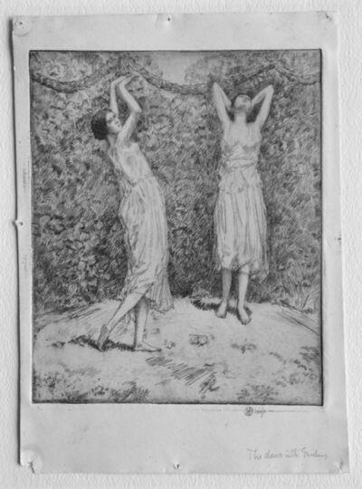 Childe Hassam, 'Dance in the Garden (Two Figures)', 1916
