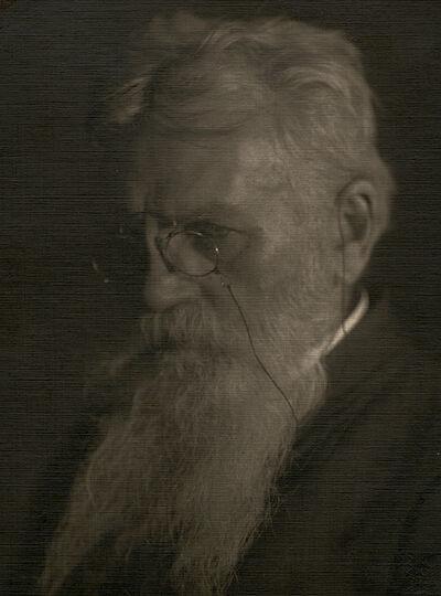 Frantisek Drtikol, 'Portrait of Man with Beard and Glasses', ca. 1910