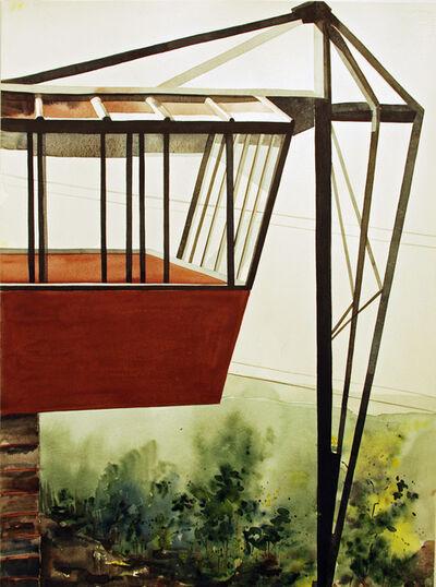 Amy Park, 'John Lautner's Jacobsen House, 1948, Los Angeles CA', 2012