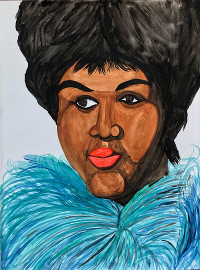 Rudy Shepherd, 'Aretha Franklin (1942-2018), the Queen of Soul.', 2018