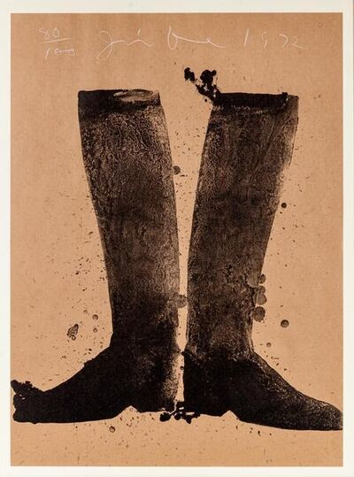 Jim Dine, 'Boots', 1972