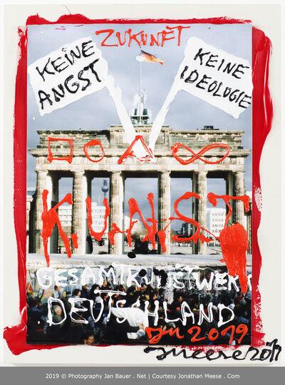 Jonathan Meese, 'Dr. Liebe De Gesamtkunstwerk Deutschland (Die Kunst ist der Staat)', 2019