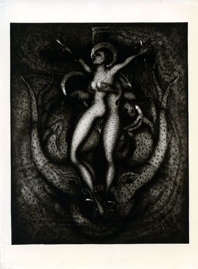 "Pierre Molinier, '""Oh! ...Marie, mère de Dieu"" 1965'"