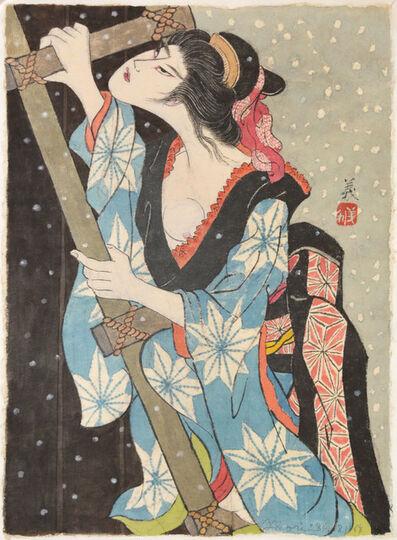 Yoshitoshi Mori, 'The Story of Oshichi', 1984