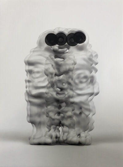 Kohei Nawa, 'trans-speaking-blend', 2014