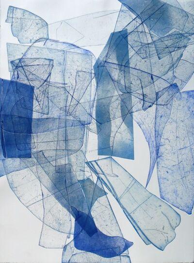 Eben Goff, 'Batholith Etching, Monoprint #B-6', 2013