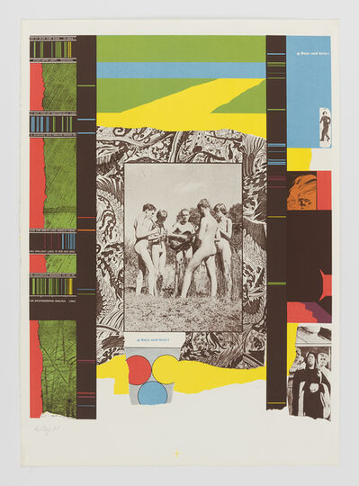 R. B. Kitaj, 'Boys and Girls!', 1964