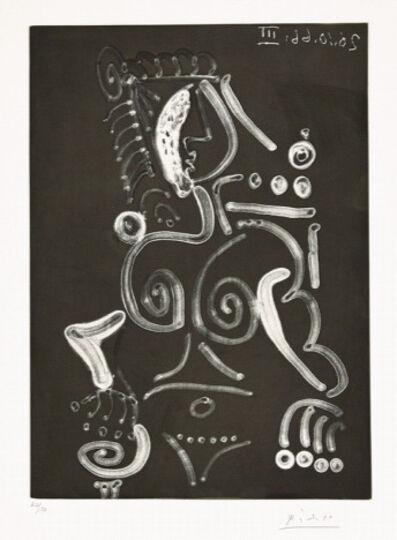Pablo Picasso, 'Femme Nue au Fauteuil', 1966