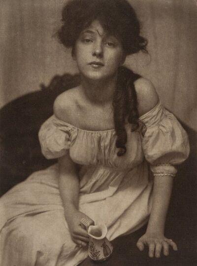 Gertrude Käsebier, 'Portrait of Miss Evelyn Nesbit', 1903