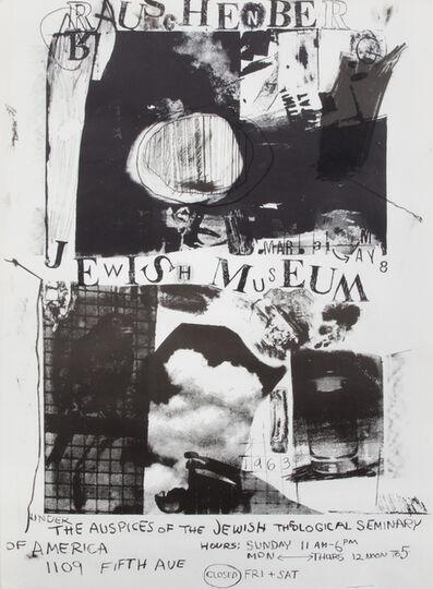 Robert Rauschenberg, 'Jewish Museum', 1963