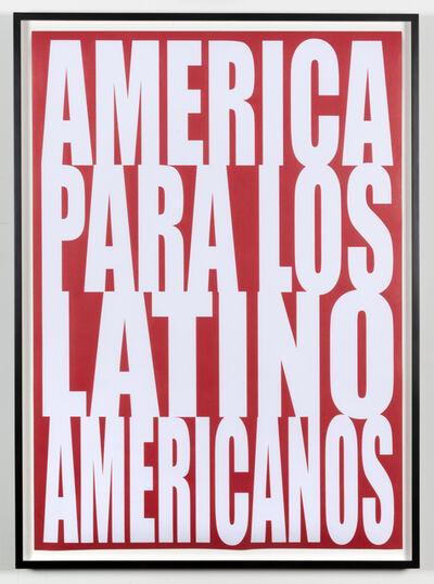 Humberto Márquez, 'América para los latinoamericanos', 1971/2017