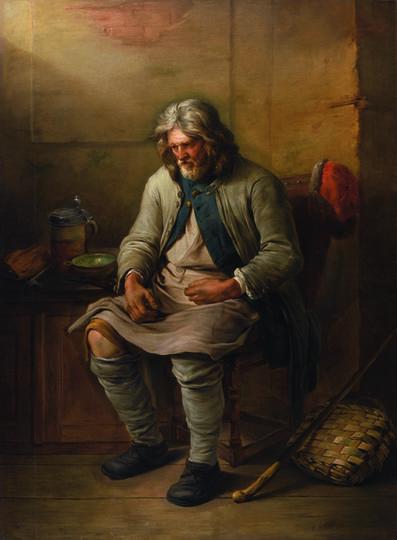 Charles-François Hutin, 'A Saxon Peasant', 1757