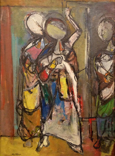 Henry Botkin, 'The Meeting', ca. 1951