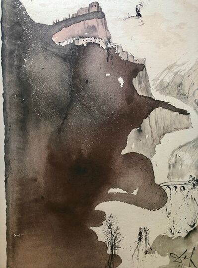 Salvador Dalí, 'And He Was Baptized By John In The Jordan, 'Et Baptizatus Est A Ioanne In Iordane', Biblia Sacra ', 1967