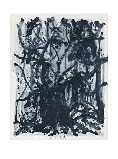 Shinro Ohtake, 'Indigo Forest 11', 2015