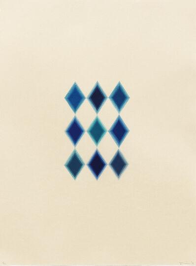 Yasu Shibata, '9 Blue Diamonds', 2015